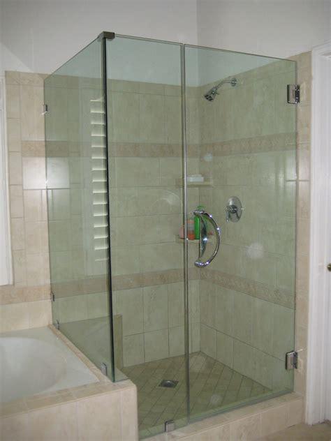 glass bathtub enclosures frameless shower tub enclosures ultra glass clear glass
