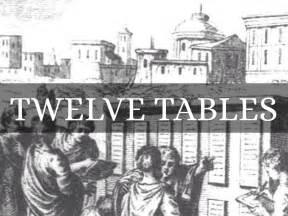 What Were The 12 Tables by Ancient By Mcuellar01