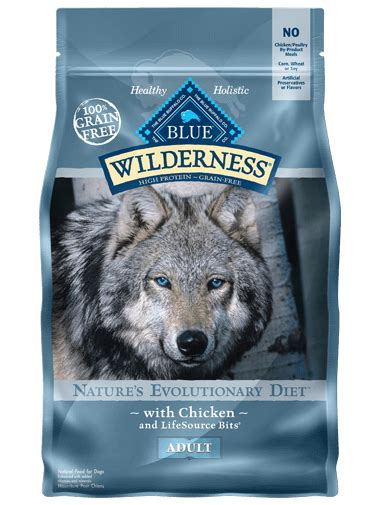 blue wilderness food blue wilderness nature s evolutionary diet with chicken for dogs food blue