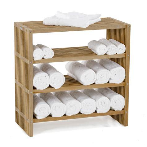 westminster teak wood waterproof towel shelf westminster