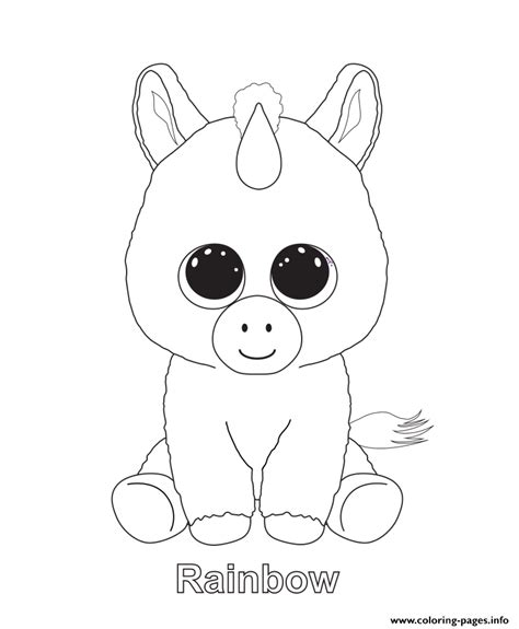 boo dog coloring page print rainbow beanie boo coloring pages kids pinterest