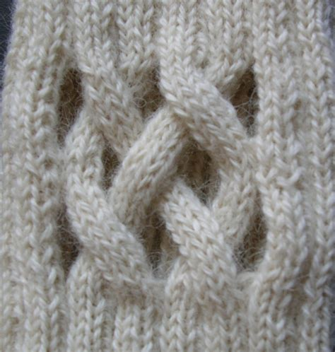 knitting cable open cable knitting patterns