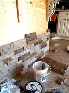 Creative Kitchen Island Ideas adding stone veneer to breakfast bar or anything using