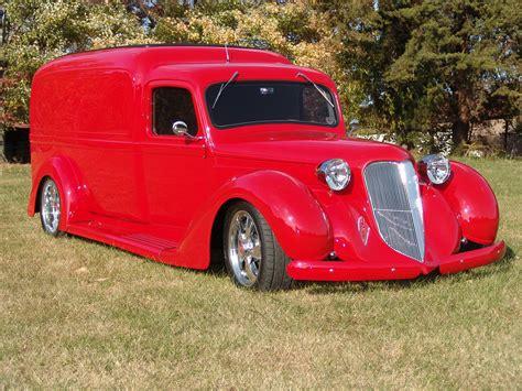 dodge retro truck 1936 dodge panel truck custom retro rod classic cars