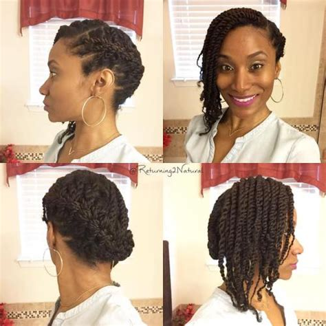 Side Twist Hairstyle by 30 Twists Hairstyles To Try In 2018