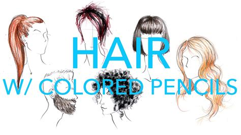 fashion illustration tutorial fashion illustration tutorial hair with colored pencils