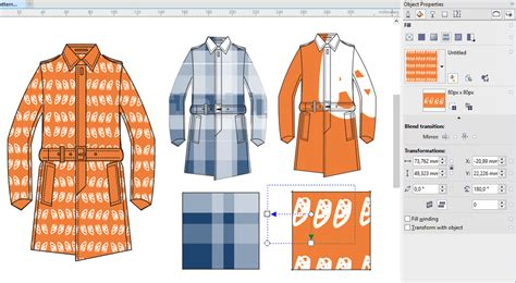 pattern design in coreldraw sublimation conde systems 25 years expert experience