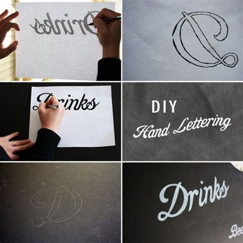 diy chalkboard writing diy lettering chalkboard menu
