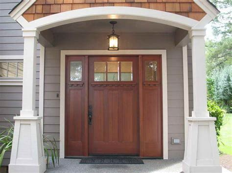 Arts And Crafts Doors Craftsman Style Doors Mission Front Door Styles
