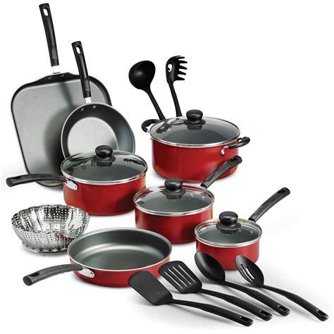 Teflon Set tramontina primaware 18 nonstick cookware set