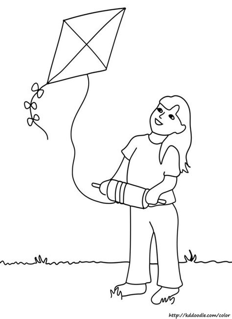 coloring page reverent child 29 best images about kite coloring pages on pinterest