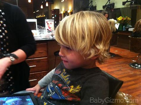 baby boy surfer hair this would work trim the front to long bangs keep a