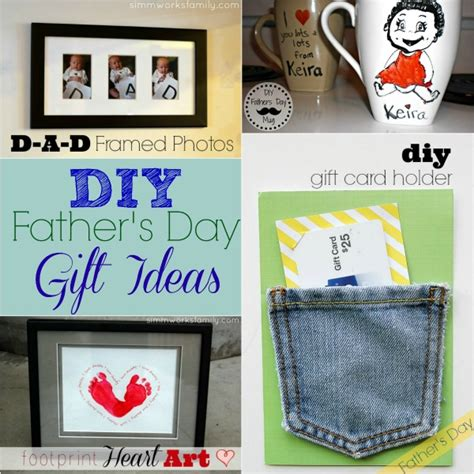 Handmade Fathers Day Gift Ideas - diy s day gift ideas a crafty spoonful