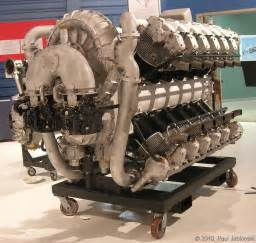 Rolls Royce Allison Engines Allison X 4520 24 Cylinder Aircraft Engine Machine Press