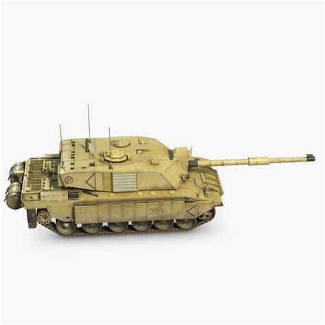 challenger 2 tank model 3d model tank challenger 2