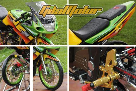 modifikasi thai look modifikasi ninja 150rr thai look persiapan untuk kontes