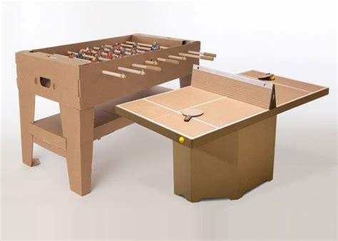 aus karton basteln bild 8 basteln mit karton kicker und tischtennistisch