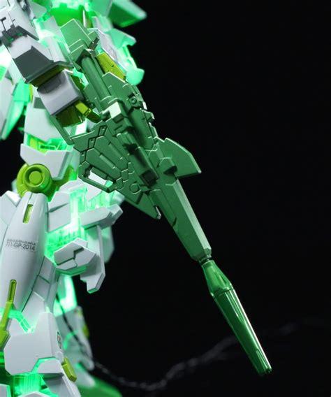 hg 1144 unicorn gundam 7 eleven ver customized build w led