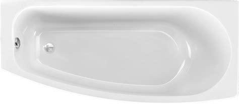 badewanne raumspar badewanne raumspar 170 x 75 cm trapezform asymmetrische