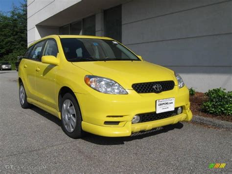 yellow toyota 2004 solar yellow toyota matrix xr 13827366 gtcarlot