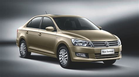new volkswagen sedan volkswagen santana new chinese sedan launches 29 years