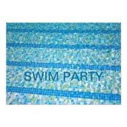 swimming pool swim invitation 5 quot x 7 quot invitation card zazzle