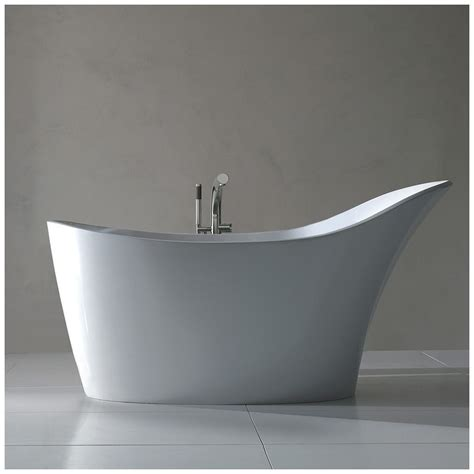 badewanne platzsparend freistehende badewanne raffinierten look freistehende