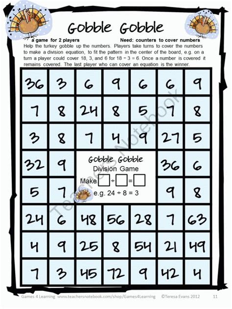 multiplication and division printable board games 25 best images about math division on pinterest