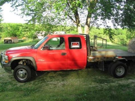 bale bed trucks for sale sell used 2002 chevy duramax with bale bed in jefferson