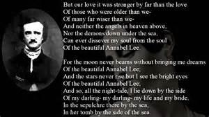 poem annabel lee by edgar allan poe freesound youtube