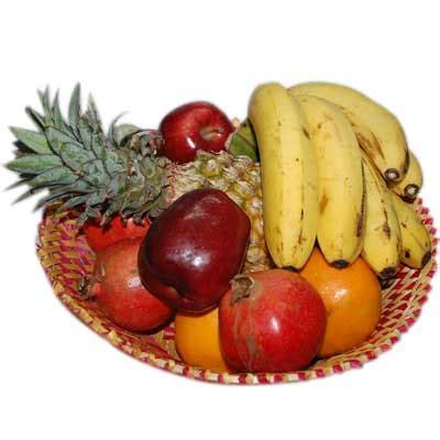 Kode Nb01 premium fruit basket to hyderabad chennai banglore india