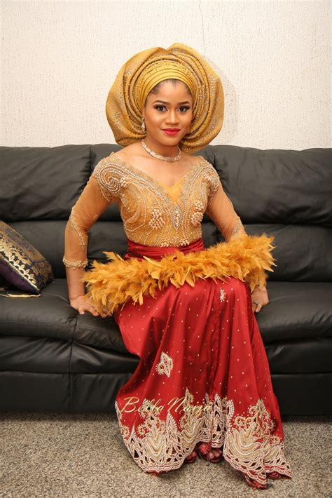 latest and most beautiful yoruba traditional wedding outfits ini and dara febuary 2016 efik nigerian wedding bellanaija