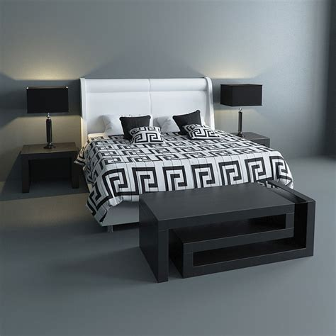 versace bed sheets 3d max versace bed set