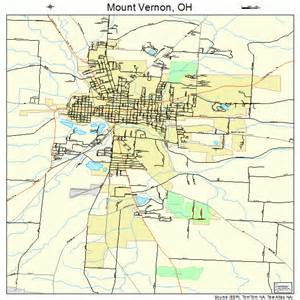 mount vernon ohio map 3953102