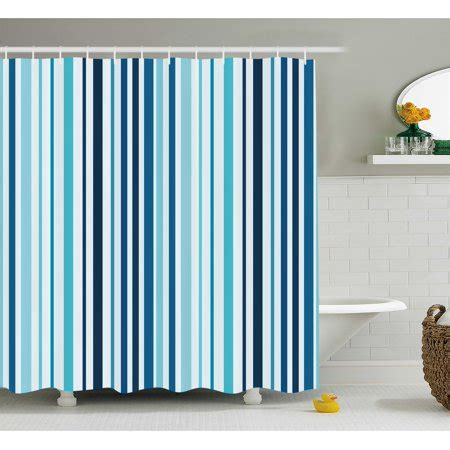 abstract shower curtain vertical striped pastel toned