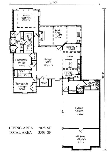 french country house floor plans justin country french home plans louisiana house plans