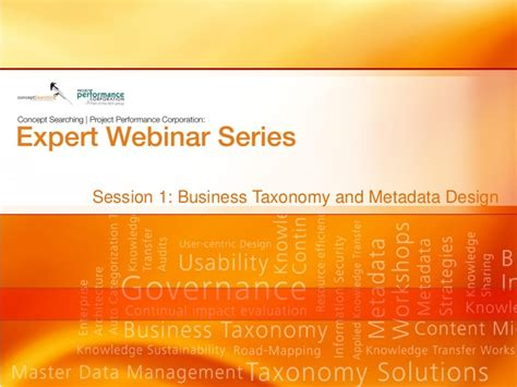 design expert webinars webinar business solutions and metadata design
