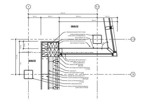brick curtain wall detail plan detail curtainwall corner nice brick curtain wall