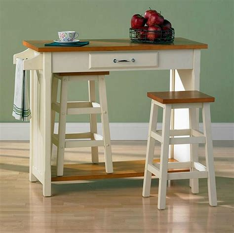 Breakfast Bar Table And 2 Stools by Kitchen Bistro Oak Top Breakfast Bar Table Set With 2