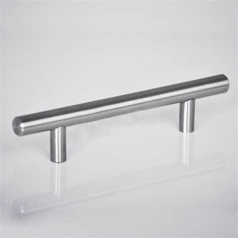 kitchen cabinets handles stainless steel 2 18 quot kitchen cabinet t bar pulls handles knobs hardware modern stainless steel ebay