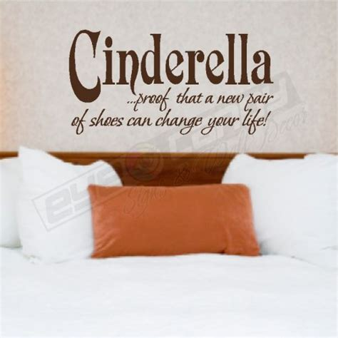 bedroom wall decor quotes cinderella bedroom wall quotes words lettering art decals eyecandysigns