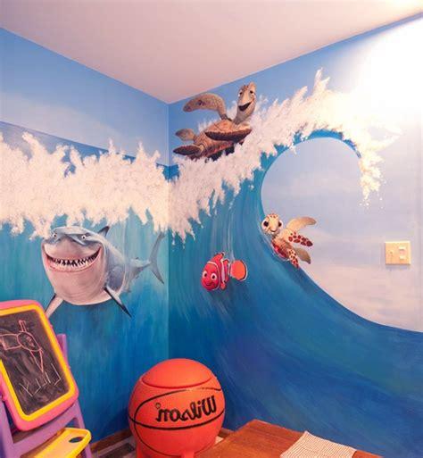 kinderzimmer wellen malen wandmalerei im kinderzimmer magische welten entdecken
