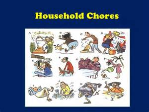 home chores household chores