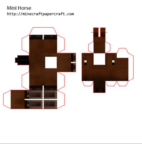 Minecraft Mini Papercraft - minecraft papercraft guide mini papercrafts