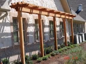 Covered Patio Building Plans Small Pergola Arbors And Garden Arbor On Pinterest