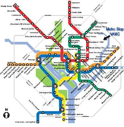 washington dc subway map pdf washington metro and map