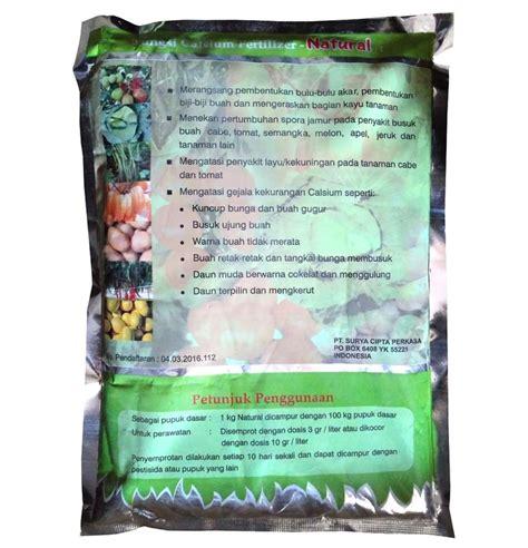 Pupuk Kalsium Tanaman pupuk calcium kalsium fertilizer 1 kg sumber