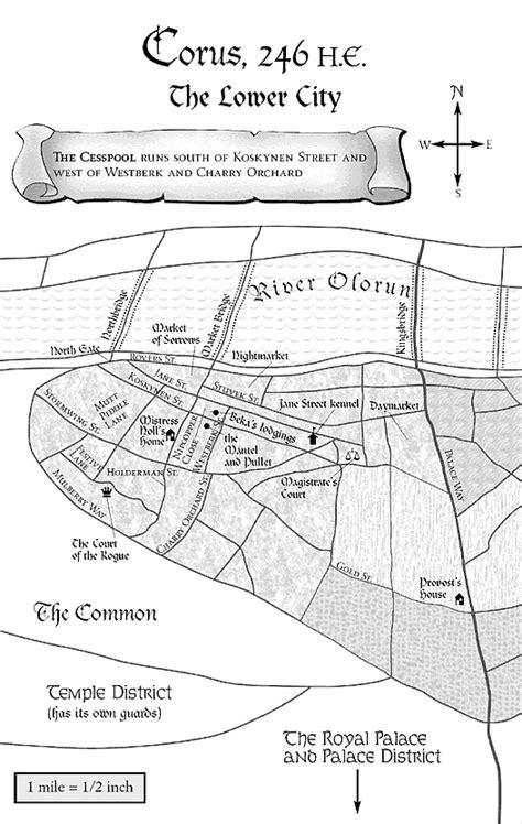 Maps - Tamora Pierce Wiki