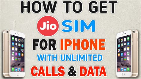 how to activate reliance jio 4g for iphone unlimited
