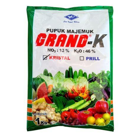 pupuk majemuk tanaman pertanian grand k 1 kg